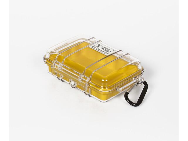 Peli MicroCase 1010 Caja, transparent-yellow